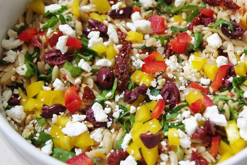 Greek Orzo Salad Recipe Whole Foods